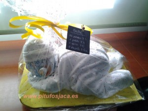 Bebé de pañales