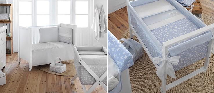 Mobilirario dormitorio bebé azul