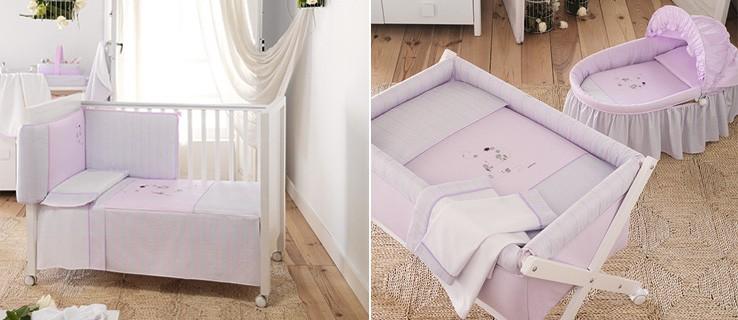 Mobiliario habitación bebé rosa