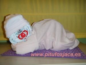Bebé rosa sin celofán