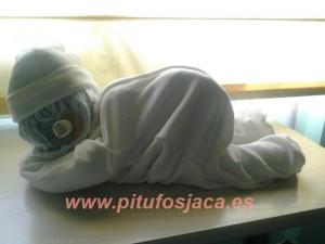 bebé blanco sin celofán
